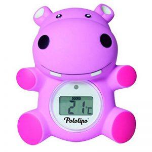 Thermomètre de bain digital Pololipo rose - Visiomed de la marque Visiomed image 0 produit