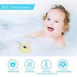 Thermomètre de bain et de chambre Acculove pour bébé,thermometre bain, thermomètre de bain flottant pour baignoire et piscine, dessin de poisson jaune Outlook, jouet sûr pour bébés, nouveau-nés de la marque acculove image 1 produit