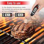 Thermomètre de Cuisine, Digital thermomètre de Cuisinon, Longue Sonde Instantanée LCD Ecran Thermomètre pour Patisserie, BBQ, Lait à Viande, Lait de la marque Dathuil image 3 produit
