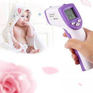 Thermomètre Frontal Infrarouge Oreilles pour Bébé, Thermomètre Auriculaire Numérique Médical Professionnel pour Bébé, Enfant, Adulte et Object, Mesure Précise-Approuvé FDA/CE/ROHS de la marque remote.S image 0 produit
