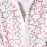 Ti-Tín, Peignoir pour enfant avec capuche, 100% coton éponge, doux et absorbant, motif étoiles, couleur: bleu ciel, taille 3-4 ans de la marque Ti TIN image 1 produit