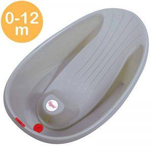 Tigex Baignoire Bébé Mini, Compacte et Ultra-Légère, 0-12 Mois, Base Antidérapante de la marque Tigex image 0 produit