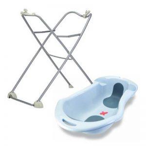 Tigex Baignoire gris perle Anatomy + Support de baignoire + Lot de 2 éponges de la marque N/D image 0 produit