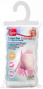 Tigex Slip Jetable Maternité, Filet Extensibles, Lavable, Taille Unique, Blanc, Lot de 5 de la marque Tigex image 0 produit