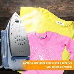 Étiquettes pour vêtements enfants – 100 étiquettes thermocollant personnalisées pour vêtements – Parfaites pour L'école, Sport, etc. Facile à appliquer et résistant! de la marque TheBABYSIMBA image 3 produit