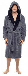 Tom Franks - Peignoir - Robes - Uni - Manches Longues - Homme de la marque Tom-Franks image 0 produit