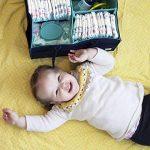 TOOGOO Organisateur de Couches pour Bébé pour Table à Langer, Salle de Bain, Grand Bac de Rangement Portatif pour Chambre de Bébé,pour Panier-Cadeau de Douche de Bébé pour Maman Nouveau de la marque TOOGOO image 1 produit