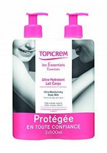 Topicrem Ultra Hydratant Lait Corps 500 ml, Lot de 2 de la marque Topicrem image 0 produit