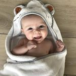 Tutti Bimbi Ensemble de grande serviette à capuche en bambou biologique certifié pour baignoire de bébé de la marque Tutti Bimbi image 3 produit