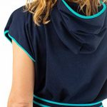 Tuuli 100% Coton Poncho avec Capuche Léger Peignoir de Plage Surf Accessoire Enfant Adulte de la marque Tuuli+Accessories image 2 produit