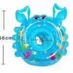 Uleade Bouée Siège Gonflable Bébés 0-5 ans Cartoon Crabe Baignoire Piscine Apprentissage Natation PVC Matériel Sécurité de la marque Uleade image 2 produit