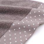 Un ensemble de 3 serviettes en coton doux lavables en machine de la marque Luwu-Store image 4 produit