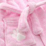 Unisexe Bébé Filles Garçons Animé Animaux Flanelle Chaude Peignoirs Sortie de Bain Hooded Pyjamas Vêtements de Nuit de la marque DELEY image 1 produit