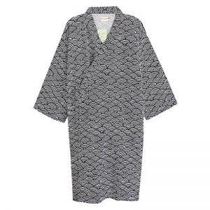 Unisexe Peignoir de Bain Douche Coton Robe de Chambre Kimono Homme Femme Chemise Vêtement de Nuit Confortable Pyjamas Yukata Lâche pour Hôtel Spa Maison Natation Khan Vapeur Sauna avec Poche Ceinture de la marque QCHOMEE image 0 produit
