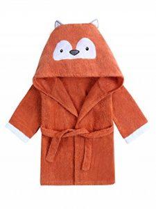 URBEAR Unisex Bébé Mignon Animal Peignoir en Coton Enfant Plage Capuche Serviette Soirée de Bain pour Bébé 12-36 Mois de la marque URBEAR image 0 produit
