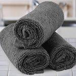 Utopia Towels - Lot de 12 gant de toilette, débarbouillettes - 30 x 30 cm, Gris de la marque Utopia Towels image 3 produit