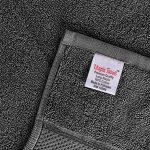 Utopia Towels - Lot de 4 Serviettes de Bain en 100% Coton - 69 x 137 cm, 600 GSM (Gris) de la marque Utopia Towels image 1 produit