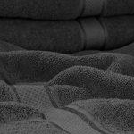 Utopia Towels - Lot de 4 Serviettes de Bain en 100% Coton - 69 x 137 cm, 600 GSM (Gris) de la marque Utopia Towels image 3 produit