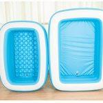 Verdickte Isolierung Falten Erwachsene Aufblasbare Wanne Kinder Waschbecken ( größe : 125*85*45cm ) de la marque Dongyunhaishop image 3 produit