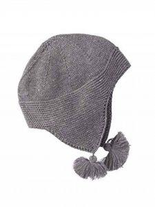 VERTBAUDET Bonnet fantaisie bébé Gris chiné 3/6M - 60/67CM de la marque Vertbaudet image 0 produit