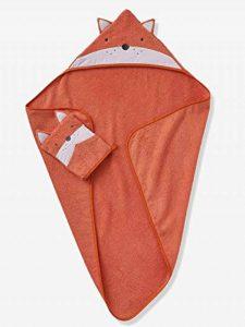 VERTBAUDET Cape de bain Renard Terre cuite 100X100 de la marque Vertbaudet image 0 produit