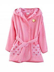 Vertbaudet Peignoir de Bain Enfant à Capuche, Rose 6 A de la marque Vertbaudet image 0 produit