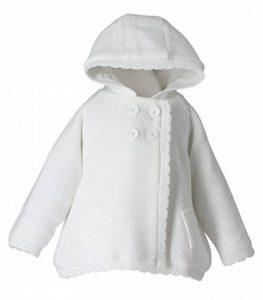 Veste Blanche Fille bébé baptême Mariage Cardigan bébé de la marque Boutique-Magique image 0 produit