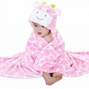 VLUNT Serviette de bain bébé, Peignoir de bain à Capuche, Mignon Animal Serviettes pour Bébé Garçon et Bébé Fille de la marque Vlunt image 0 produit