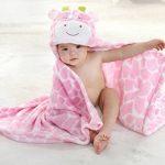 VLUNT Serviette de bain bébé, Peignoir de bain à Capuche, Mignon Animal Serviettes pour Bébé Garçon et Bébé Fille de la marque Vlunt image 2 produit