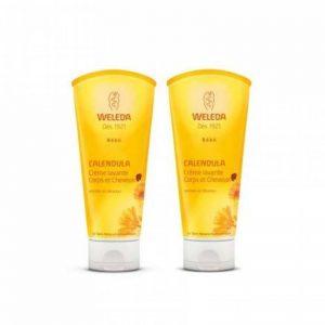 Weleda Duo Crème Lavante Cheveux & Corps Bébé 2x200 ml de la marque Weleda image 0 produit
