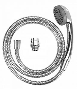 WENKO 22866100 Douchette pour lavabo Chromé, Métal, 150 x 3,5 x 6,5 cm de la marque Wenko image 0 produit