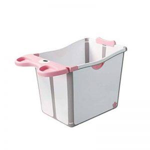 WSJTT Baignoire bébé Baignoire Pliante Portable Bassin De Douche Pliable Baignoire De Baignoire Pliable Confortable 2 Couleurs, 54.7 * 39.7 * 55cm (Color : Pink) de la marque WSJTT image 0 produit