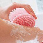XIANC Brosse de Bain en Silicone pour Le Corps, shampooing nettoyant pour Pinceau de Douche de bébé, Brosse pour Le Corps Gommage exfoliant, épurateur Doux pour Le Corps, Cuir chevelu de la marque XIANC image 4 produit