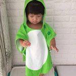 XLGX Enfants Serviette de Bain Robe Enfants Capuche Plage Natation Poncho Dinosaure de la marque XLGX-Bb image 3 produit