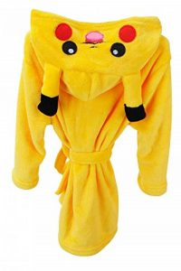 YAOMEI Peignoir de Bain Enfant Filles Garçon Licorne Capuche Kigurumi Chemises de Nuit Peignoir Kimono de Demoiselle d'honneur de la marque YAOMEI image 0 produit
