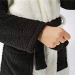 YAOTT Peignoir de Bain à Capuche pour Enfants Unisexe Flanelle Robe de Nuit Mignon Confortable Chaud 7-13 Ans de la marque YAOTT image 3 produit