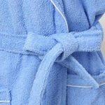 Yifen Unisexe 100% Coton col châle Longue Serviette Peignoir Peignoir Robe avec Deux Poches et Ceinture de la marque Yifen image 3 produit