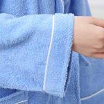 Yifen Unisexe 100% Coton col châle Longue Serviette Peignoir Peignoir Robe avec Deux Poches et Ceinture de la marque Yifen image 4 produit