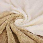 YJZQ Robe de Bain pour Femme Serviette sans Bandeau Cheveux Serviette de Bain Peignoir de Douche Peignoir éponge Séchage Rapide pour Baigner Sauna de la marque YJZQ image 3 produit