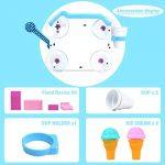 yoptote JouetdeBain Moussant Machineà GlacesEnfants Douche JeuBainBébé Creme Bulle Convient pour Plus de 18 Mois de la marque yoptote image 3 produit
