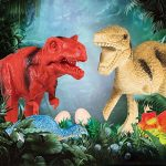 Yosemy Dinosaures Jouet, 15 Pcs Jeu de Dinosaures Figures Modèle en Plastique Dinosaure Chiffres Educatif Jouets pour Enfants 3 Ans de la marque Yosemy image 4 produit