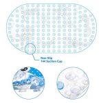 Yosemy Tapis de Bain Antidérapant Tapis de Douche avec Ventouses pour Bébé Enfant pour Salle de Bain Baignoire Cartoon Imprimé (69 x 39 cm) de la marque Yosemy image 4 produit