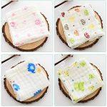 Z-Chen Lot de 10 Mousseline Carrés Serviette de Bain pour bébé de la marque Z-Chen image 1 produit
