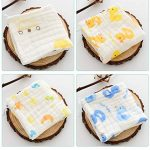 Z-Chen Lot de 10 Mousseline Carrés Serviette de Bain pour bébé de la marque Z-Chen image 2 produit
