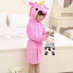 Z-Chen Peignoirs de Bain pour Enfant - Licorne de la marque Z-Chen image 2 produit