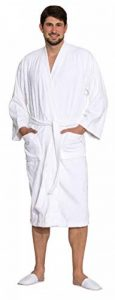 ZOLLNER Peignoir en Coton, Tailles différentes, Blanc, Style Kimono, 019 de la marque ZOLLNER image 0 produit