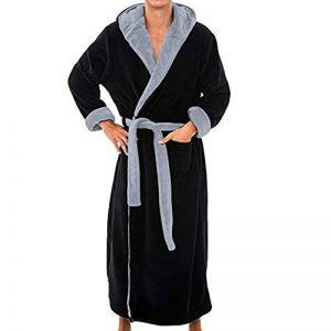 ZYUEER Peignoir De Bain Homme Grande Taille, Hiver Longue Mode Pas Cher de la marque ZYUEER image 0 produit